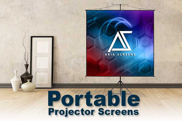 THE BEST HOME PROJECTOR SCREENS | OUTDOOR PORTABLE PROJECTOR SCREENS